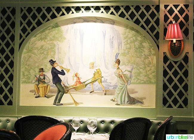 Mural at Brennan's Restaurant, travel stories on UrbanBlissLife.com