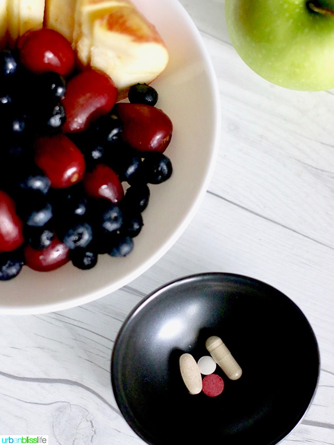 Vitamin Supplements - Good Health Habits to start in the new year, on UrbanBlissLife.com