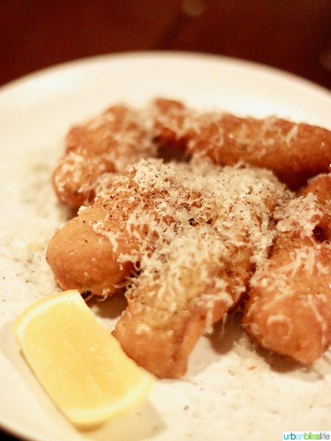 Frito Mixto at Bar Casa Vale restaurant in Portland, Oregon.