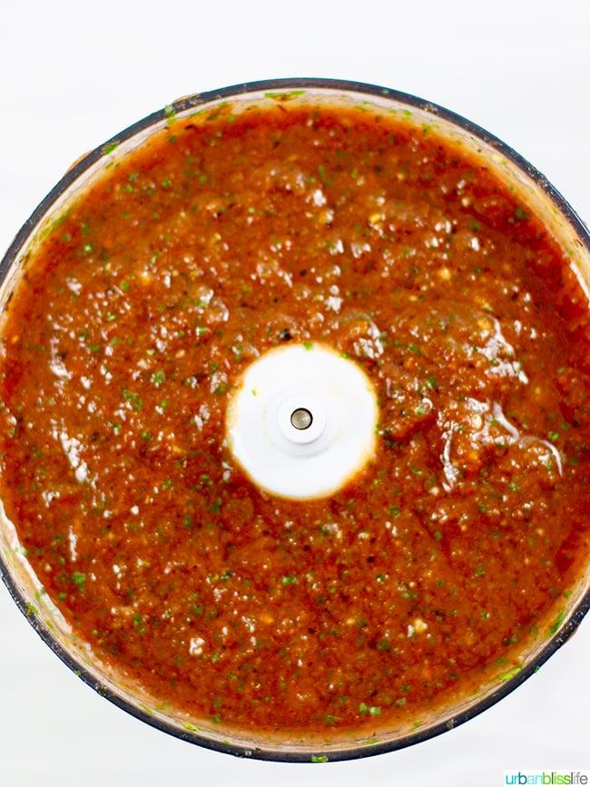 restaurant-style salsa food processor