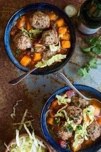 Whole30 Meatball Soup recipe