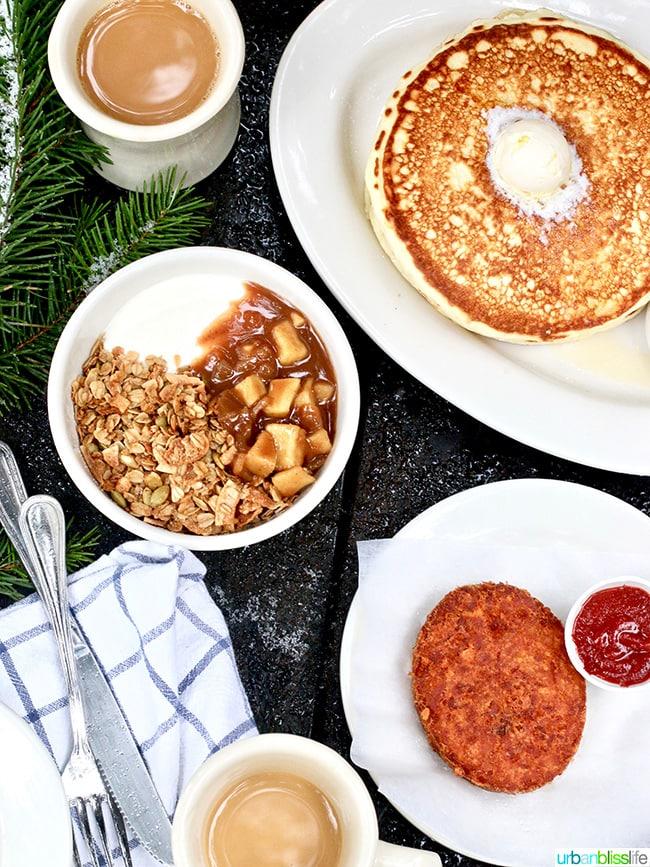 Suttle Lodge Breakfast