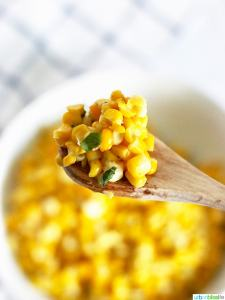 Grilled or Sautéed Corn with Basil Butter