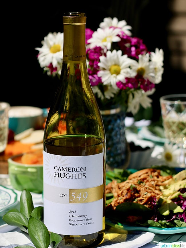 sunny summer soiree white wine