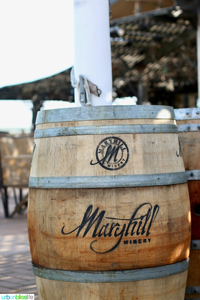 Maryhill Winery, Goldendale, Washington