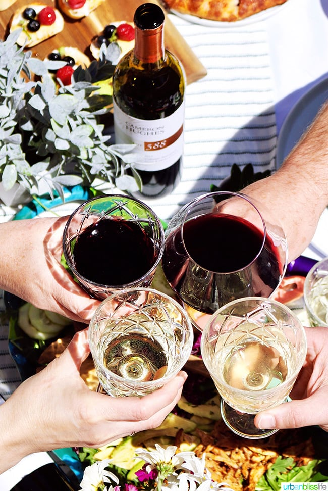 cheers to perfect summer soiree