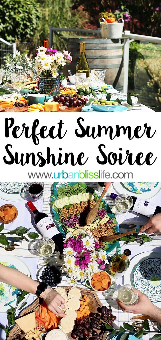 sunny summer soiree
