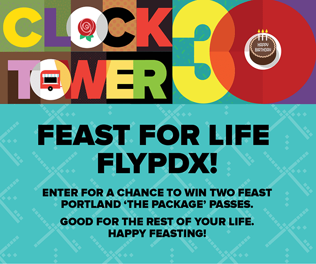Feast For Life Fly PDX Events & Feast Portland Giveaway