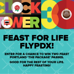Feast for Life Fly PDX event