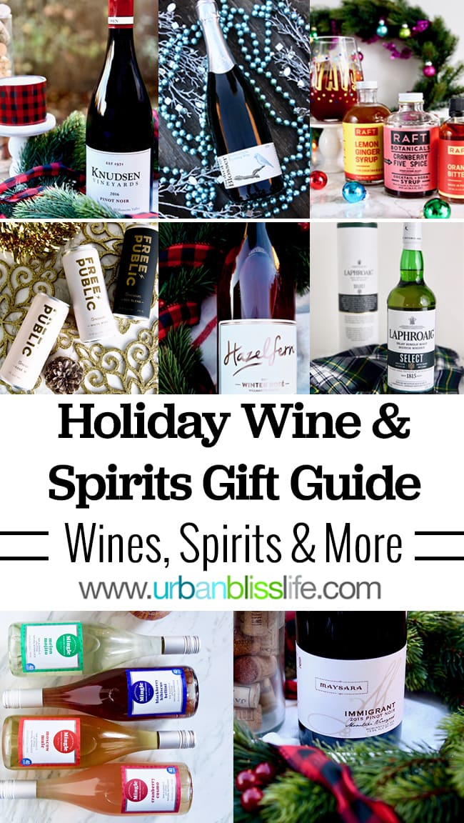 2018 Holiday Wine and Spirits Gift Guide