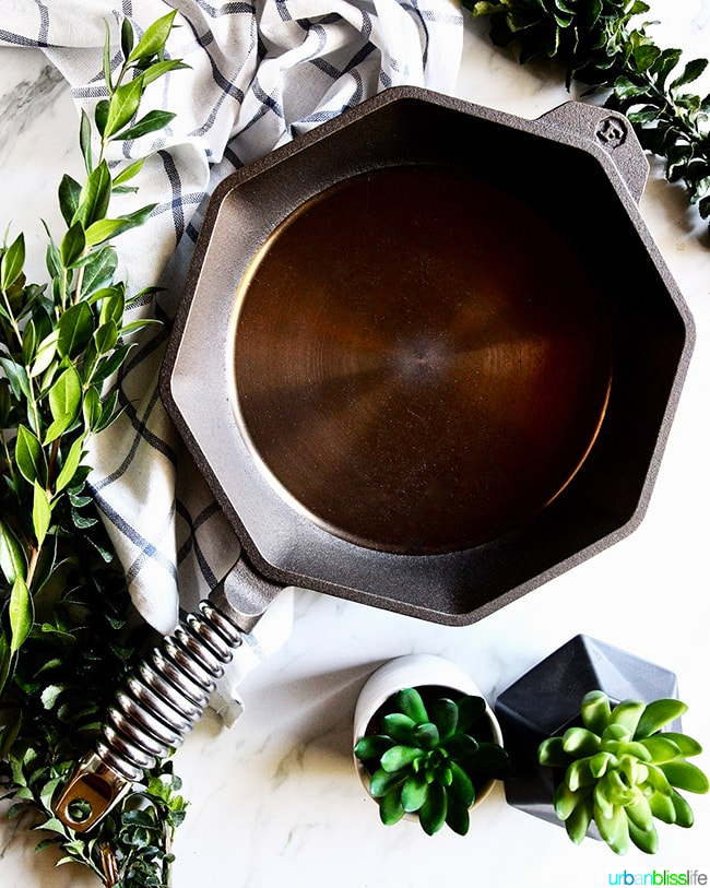 Finex Cookware 10 inch cast iron skillet