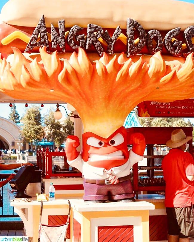 Angry dogs Pixar Pier