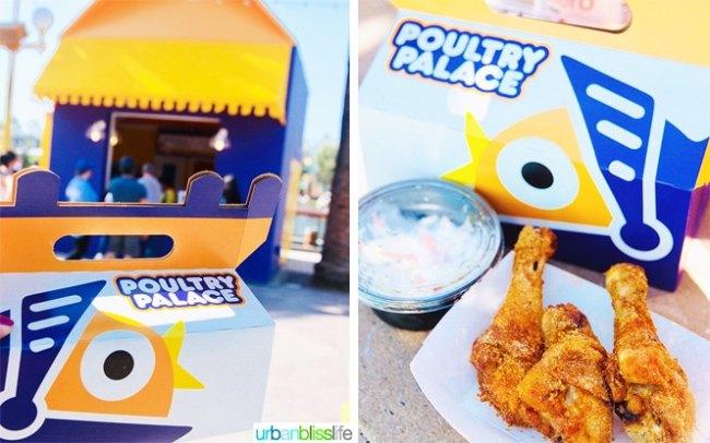 Disneyland Pixar Pier Poultry Palace