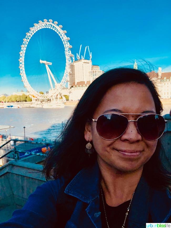 Marlynn at London Eye