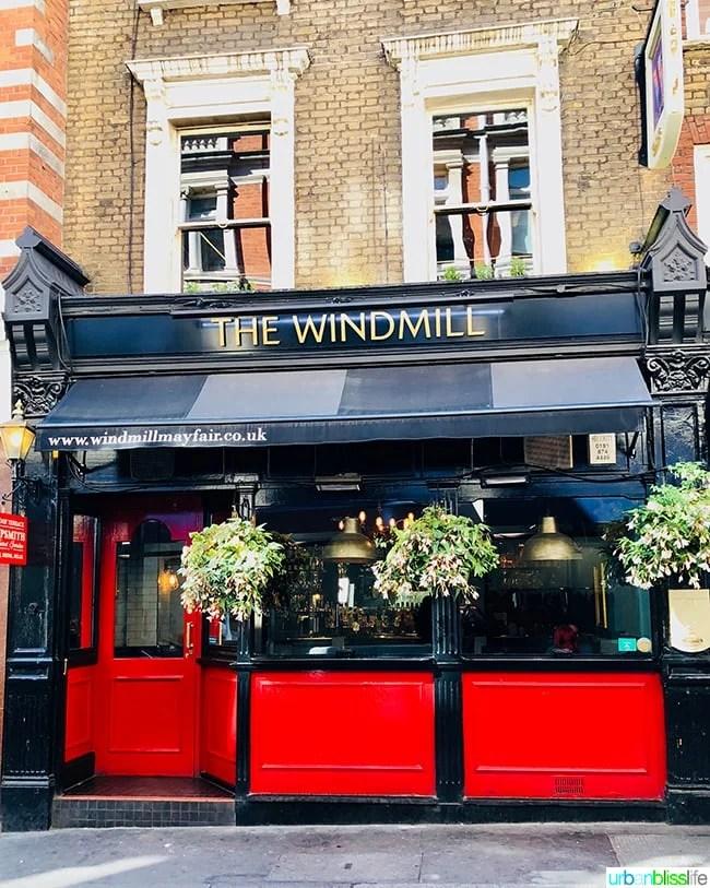 The Windmill Mayfair London