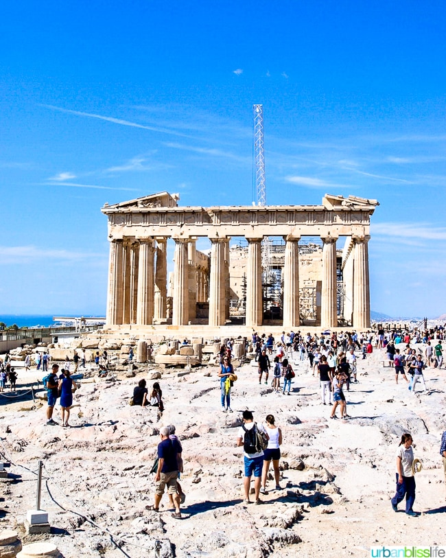 Travel Bliss: Acropolis Tour in Athens, Greece