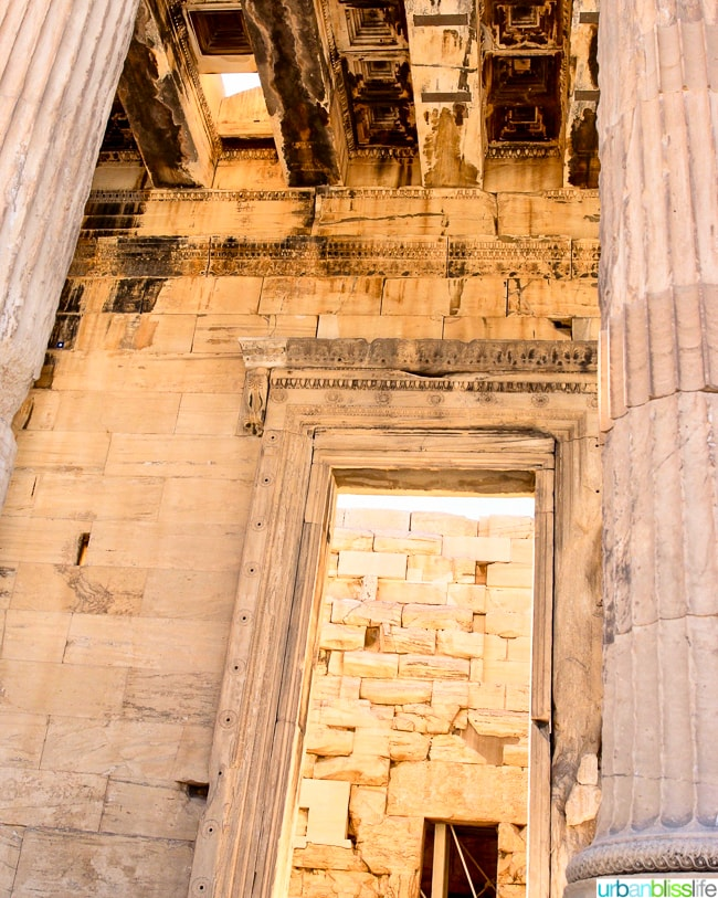 The Erechtheion at the Acropolis