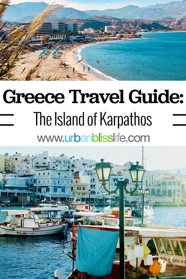 Greece Travel Guide: Karpathos Island, on UrbanBlissLife.com