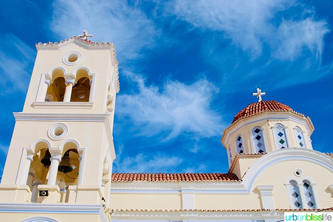 church at Aperi and Othos on Karpathos Island, Greece