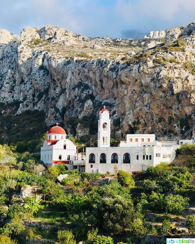 Church Mesochori Karpathos Greece
