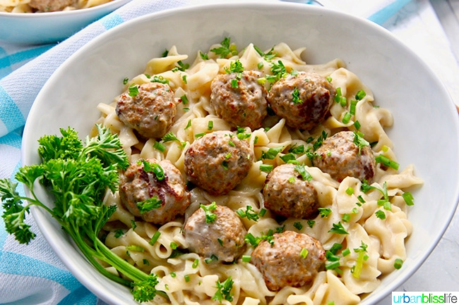 Instant Pot Swedish Meatballs landscape