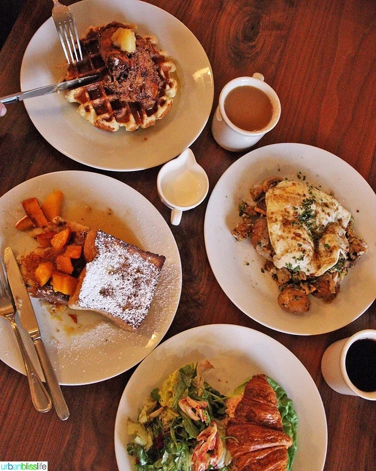 brunch at Eatery at the Grant House in Vancouver, Washington