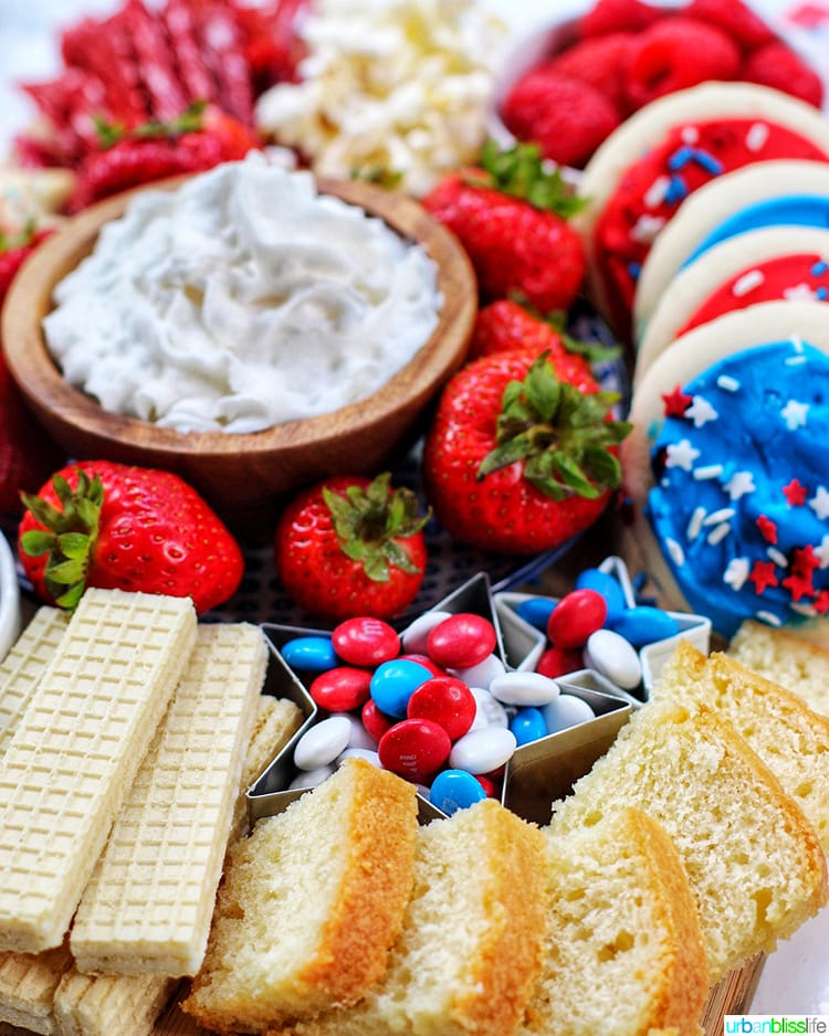 4th of July Dessert Board cake