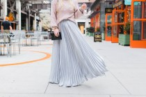 pearl-sweater-pleated-skirt-silver-atlanta-ponce-city-market