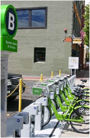 Salt Lake City GREENbike Squatters Station
