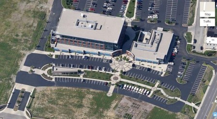 Paycor's New HQ from Above (Google)