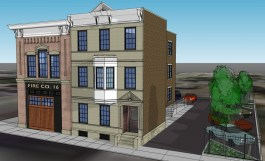 Firehouse Row Rendering [Wright Design]