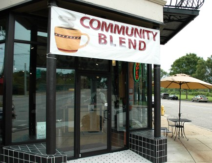 Community Blend in Evanston [Drew Baugh]