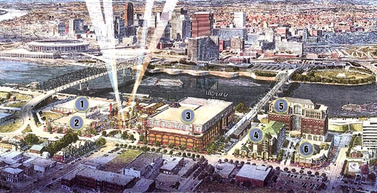 Original Vision for Newport on the Levee