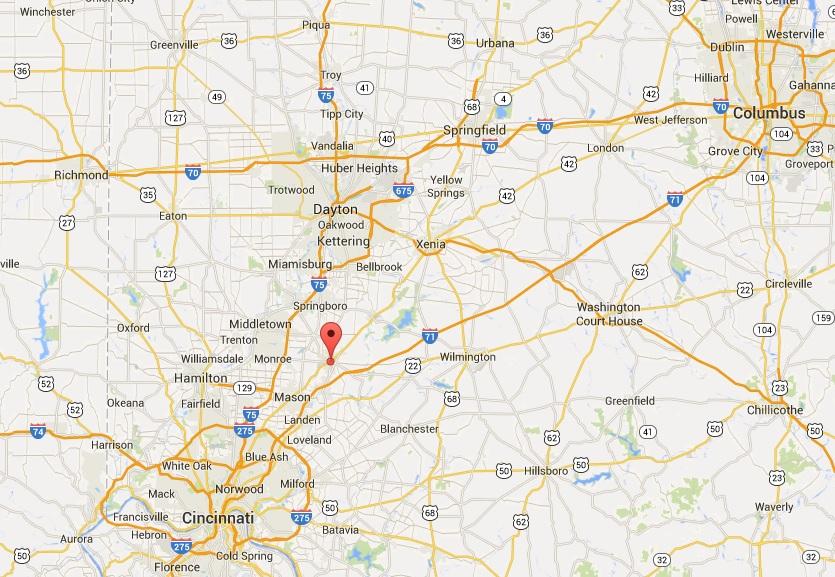 Location of ODOT's Transit Meeting [Google Maps]