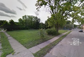 Existing Fergus Street Site [Google Street View]