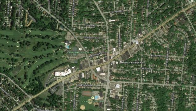 Pleasant Ridge Neighborhood Business District [Google Maps]