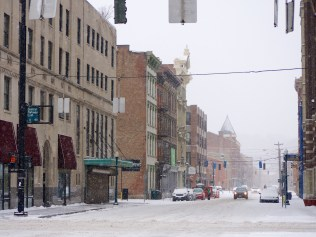 Walnut Street in Over-the-Rhine