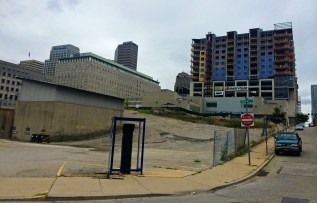 Seven at Broadway overlooks CL&N Heights [Randy Simes]