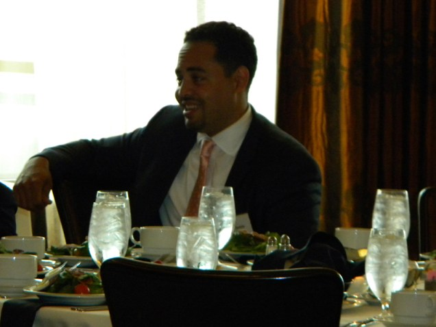 Oscar Bedolla at CREW Luncheon [Kevin LeMaster]
