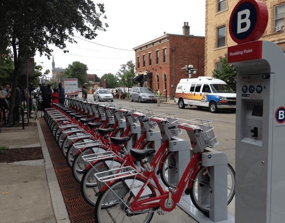 Cincy Red Bike in Covington [Provided]