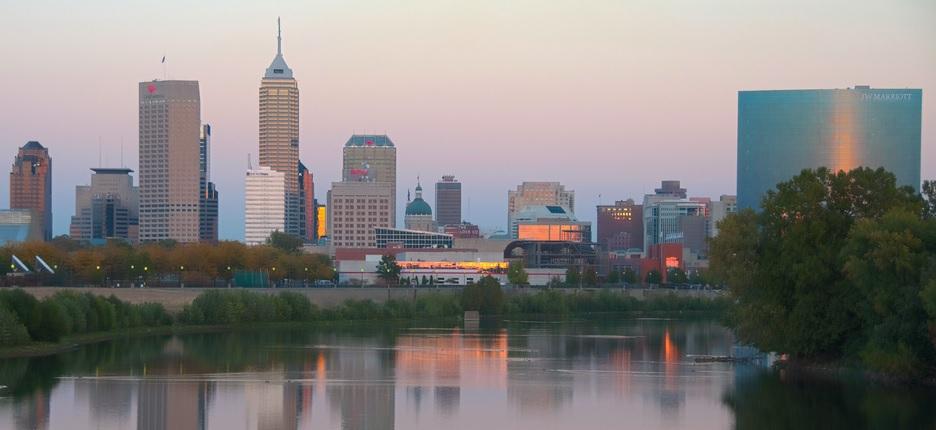 No, Indianapolis is not bigger than Washington DC or Atlanta. [Serge Melki, Flickr]