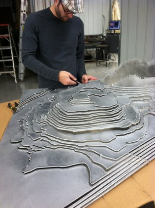Jeff Welch Works on Aluminnati [Provided]