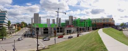 Aqua on the Levee Construction 5