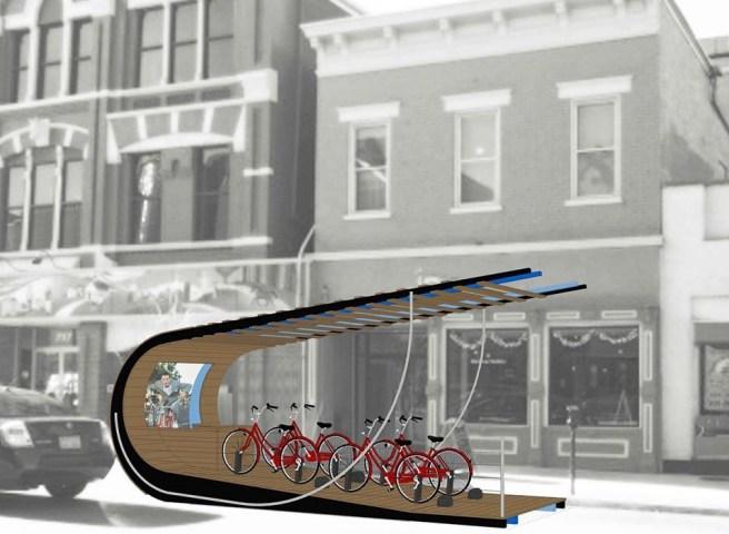 Ride Parklet at Inspirado at Madison Gallery [Provided]