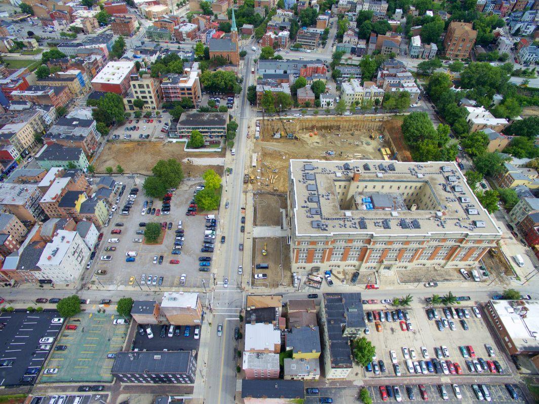 Ziegler Park under construction [Photo by Travis Estell]