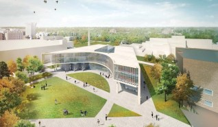SE Aerial View of Health Sciences Building [Provided]