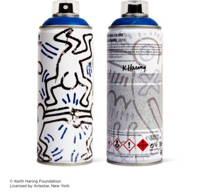 Keith Haring Special Edition Artist Series Can – DARK BLUE