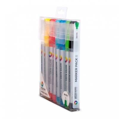 MTN MARKERS Water Based 3 mm  Set 8
