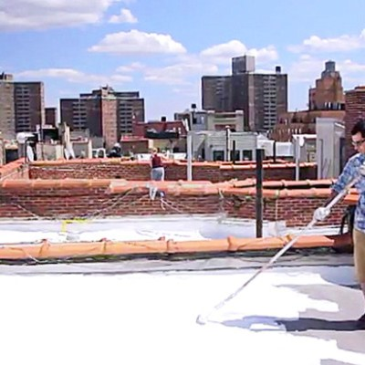 Painting Out Climate Change, One Roof at a Time