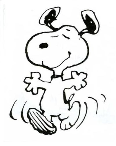 The Snoopy Dance Beagle